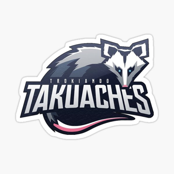 Logotipo de Trokiando Takauches Pegatina