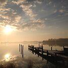Eastern Shore February Sunrise by Lexi
