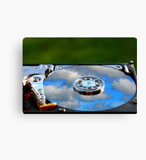 Cloud Storage Canvas Print