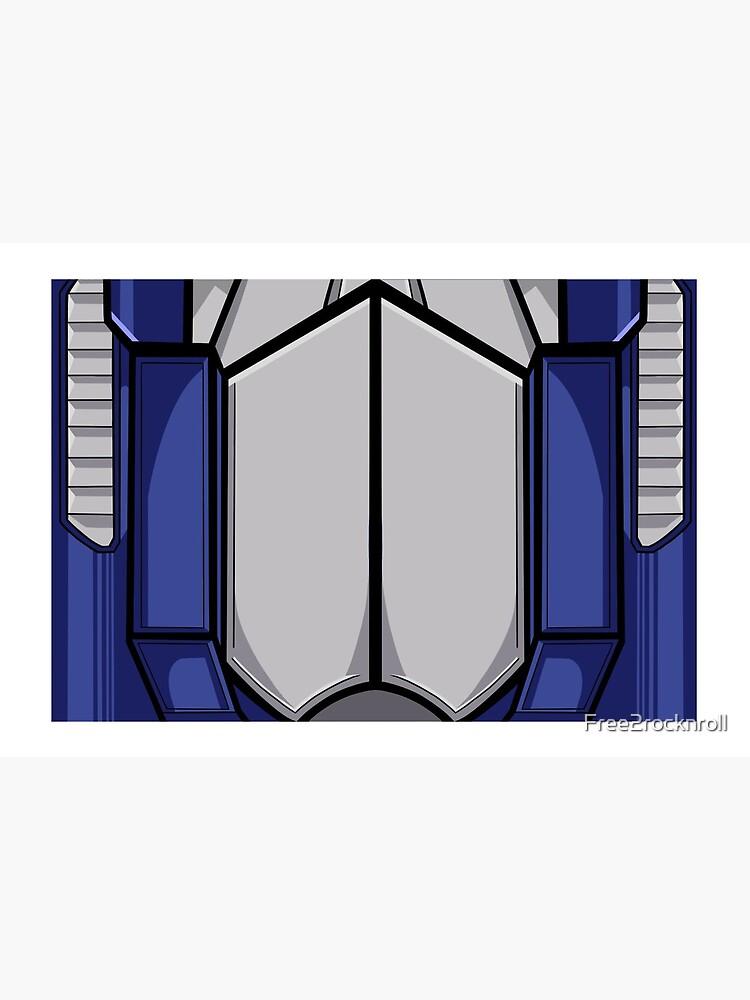 Optimus Prime Mask by Free2rocknroll