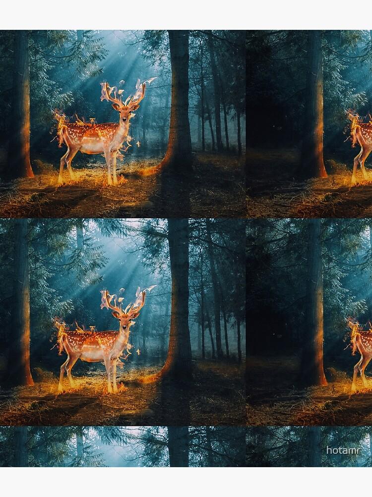 The Deer by hotamr