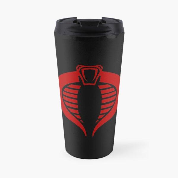 Gi Joe Cobra Enemy Logo Travel Mug