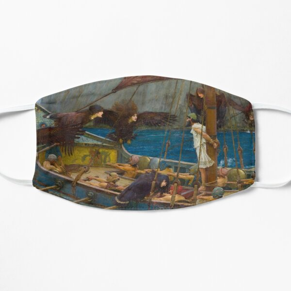 Ulysses and the Sirens - John William Waterhouse Mask