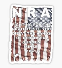 Stop the NRA Sticker