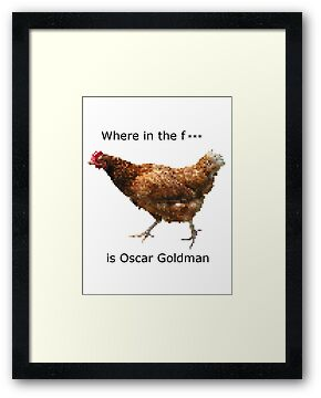 Where in the F*** is Oscar Goldman by Ashley Peppenger