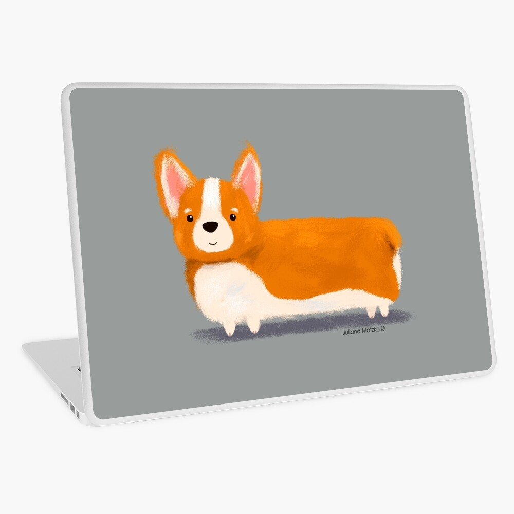 Corgi Laptop Skin