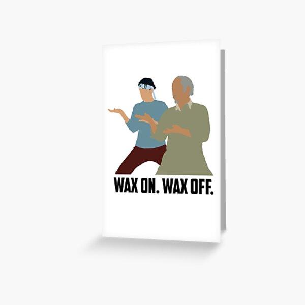 Karate Kid Grußkarte
