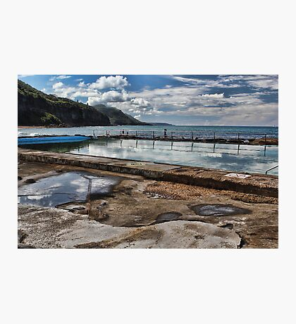 Coalcliff Ocean Pool Photographic Print