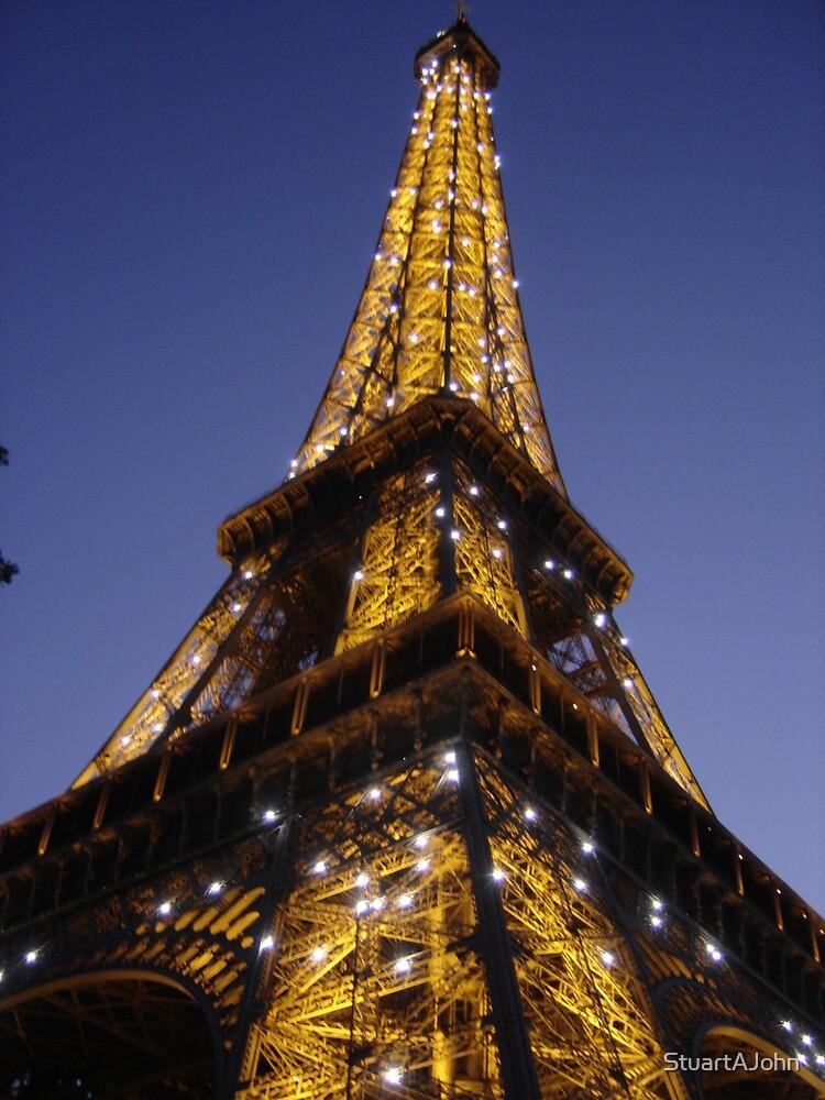 Tower By Night by StuartAJohn