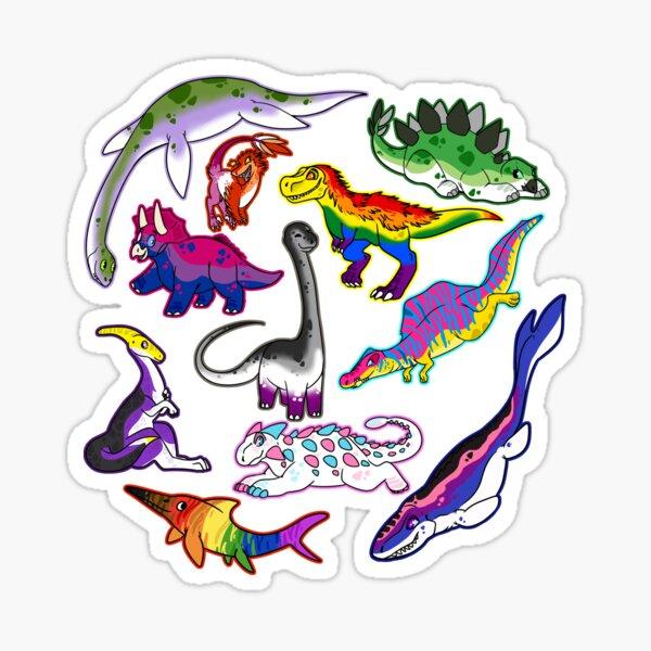 Pride Dinosaurs Sticker