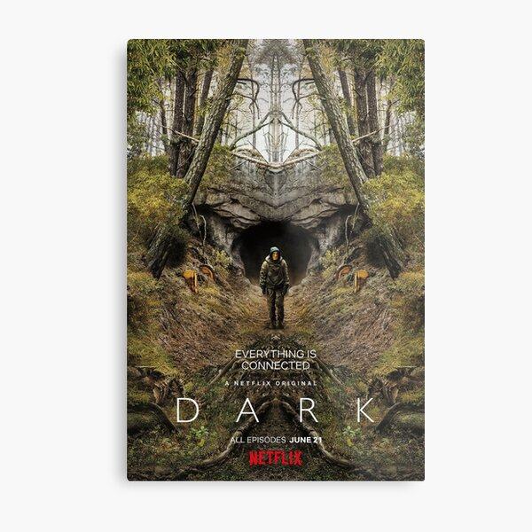 Dark Netflix Season 2 Metal Print