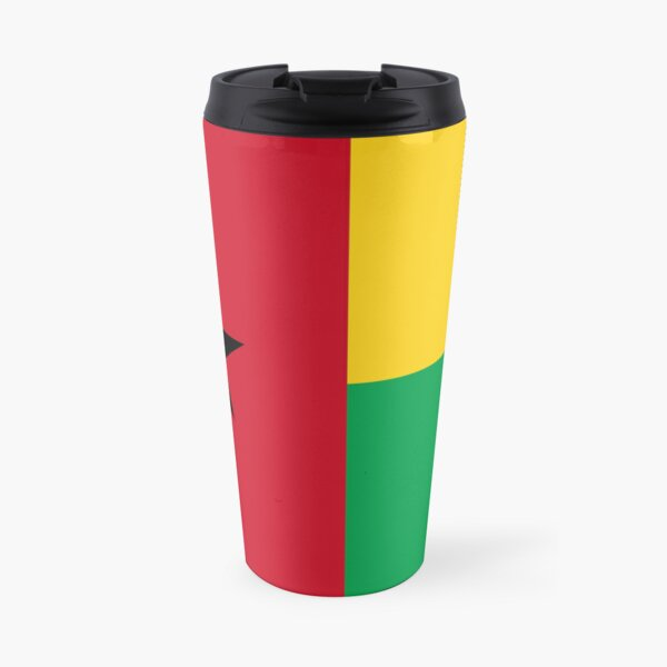 Flag of Guinea-Bissau Travel Mug