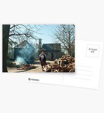 Slavery in Williamsburg, VA Postcards