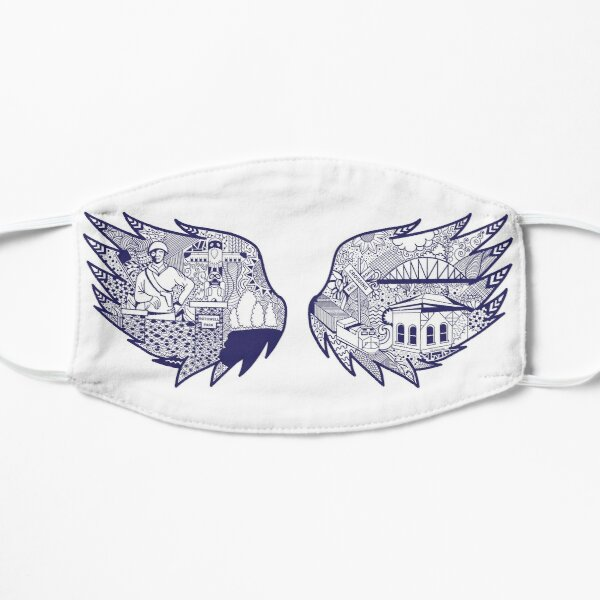 """Show Me Moberly """"Wings"""" Mural Art Mask"""