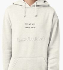 The road goes ver on and on Pullover Hoodie