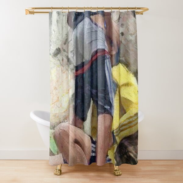 Back Alley Negotiation Shower Curtain