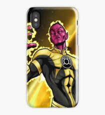 Sinestro Corp iPhone Case/Skin