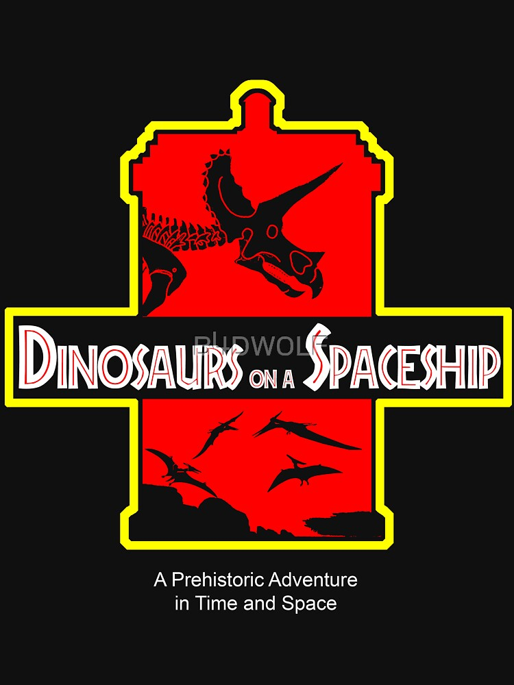 Dinosaurs on a Spaceship | Unisex T-Shirt