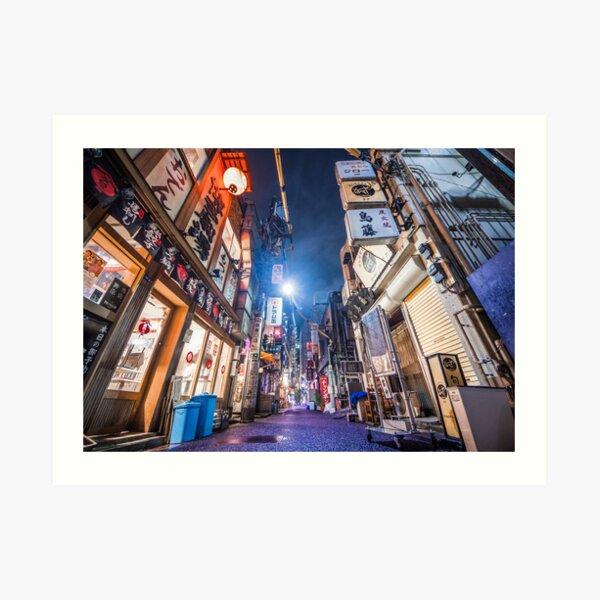Tokyo Backstreets by Tokyo Lens Art Print