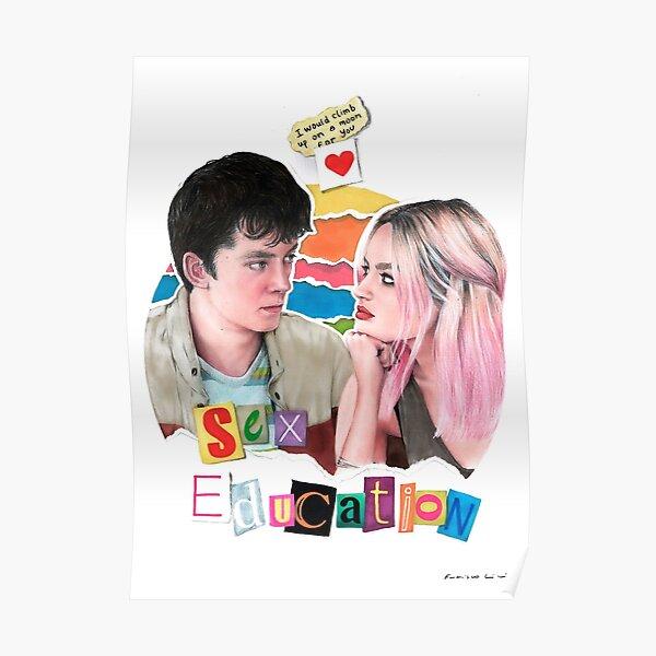 Illustration de l'éducation sexuelle Poster