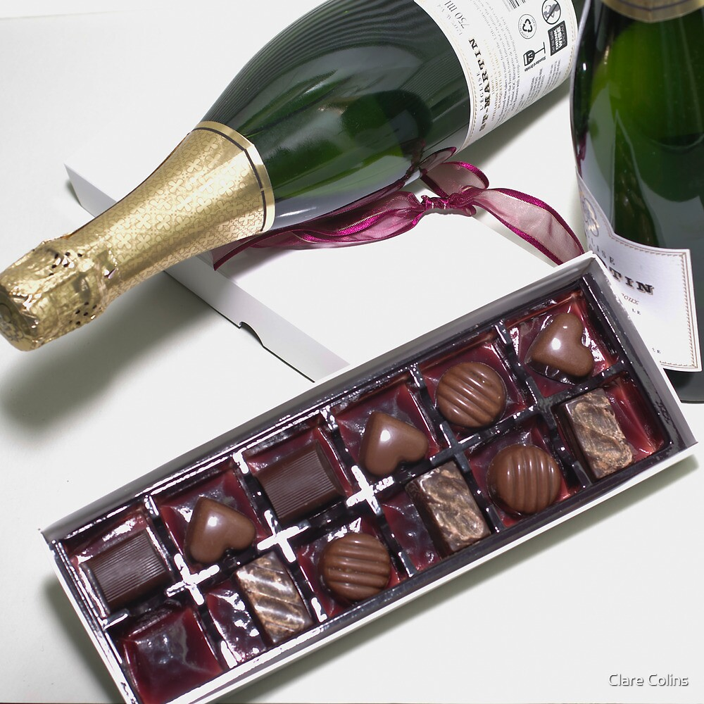 Chocolates and Champagne by Clare Colins