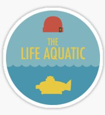 The Life Aquatic with Steve Zissou - Sticker Sticker