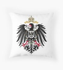 Coat of Arms of the German Empire (1889-1918) Throw Pillow