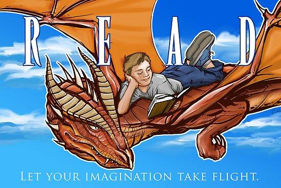 Imagination Take Flight by Patrick Scullin