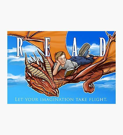 Imagination Take Flight Photographic Print