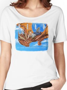 Imagination Take Flight Women's Relaxed Fit T-Shirt