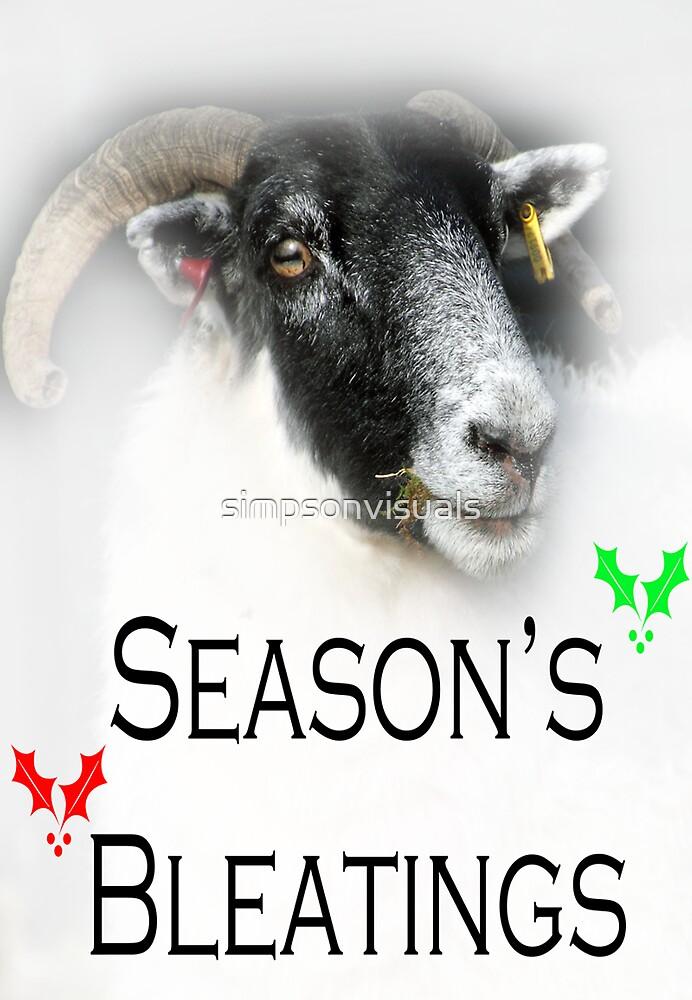 Season's Bleatings by simpsonvisuals