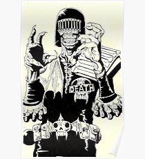 Judge Death Poster