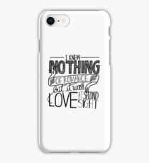 At Second Sight iPhone Case/Skin