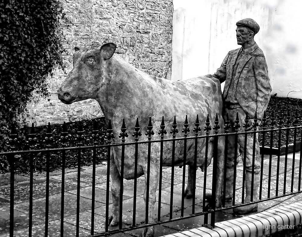 Rural Life Statue- Axminster.Devon.UK by lynn carter