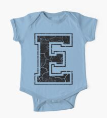 E - the Letter One Piece - Short Sleeve