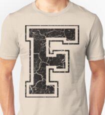 F - the Letter Unisex T-Shirt