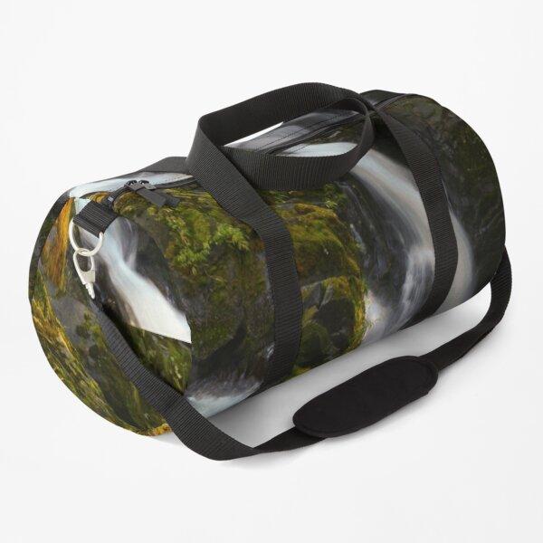 SILKEN WATERFALL AND  EVENING SUNLIGHT Duffle Bag