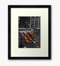 Taxi!!! Framed Print