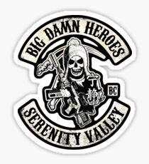 Big Damn Heroes v2 Sticker