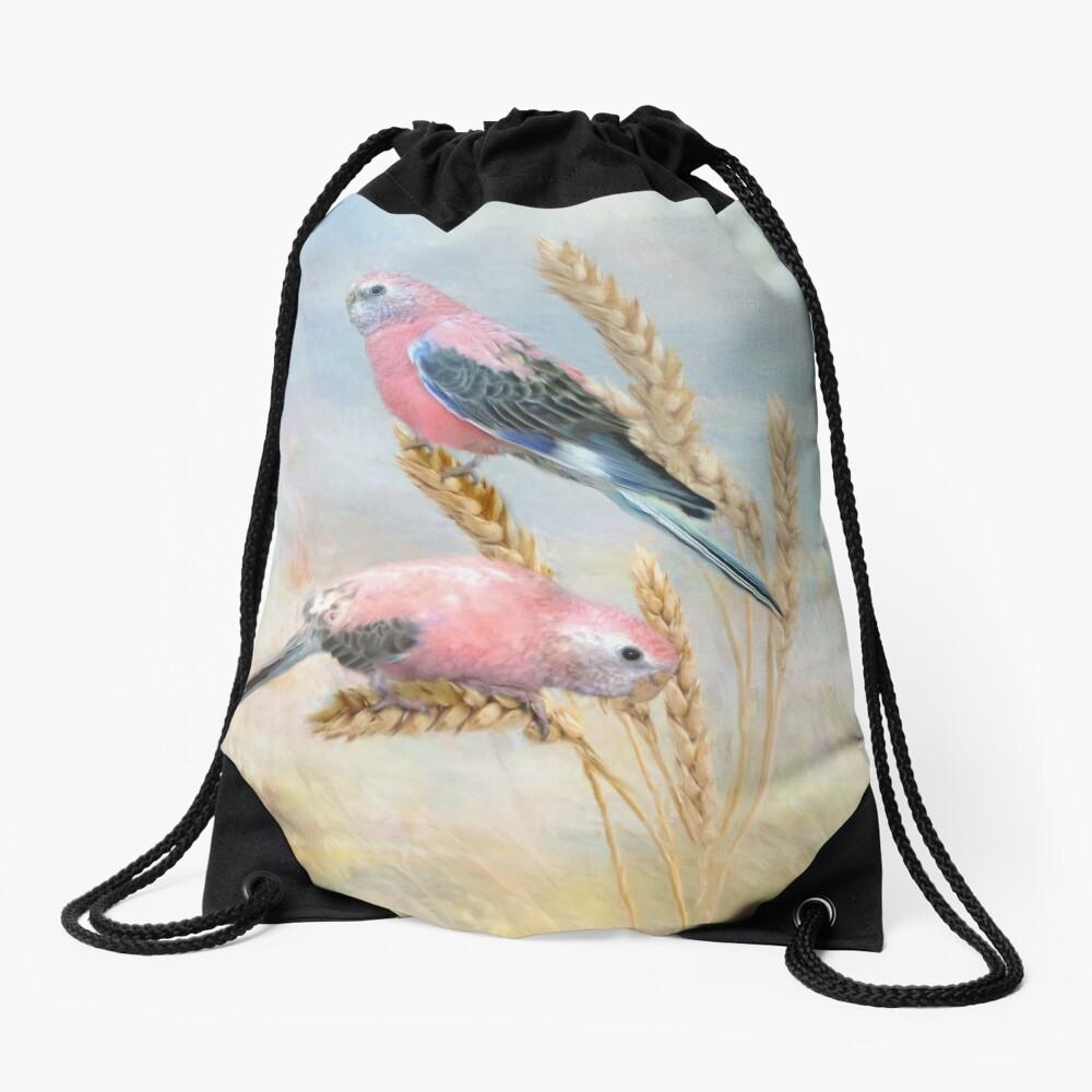 Bourkes Parrot Drawstring Bag