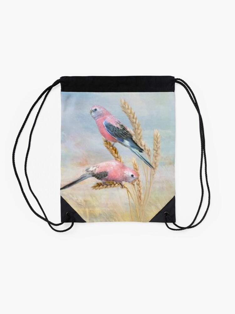 Alternate view of Bourkes Parrot Drawstring Bag