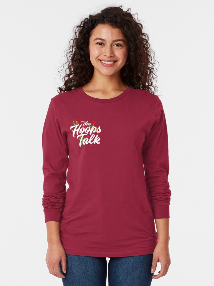 Alternate view of Hoops and Roses Long Sleeve T-Shirt