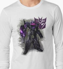 Transformers War For Cybertron - Decepticons: Shockwave Long Sleeve T-Shirt