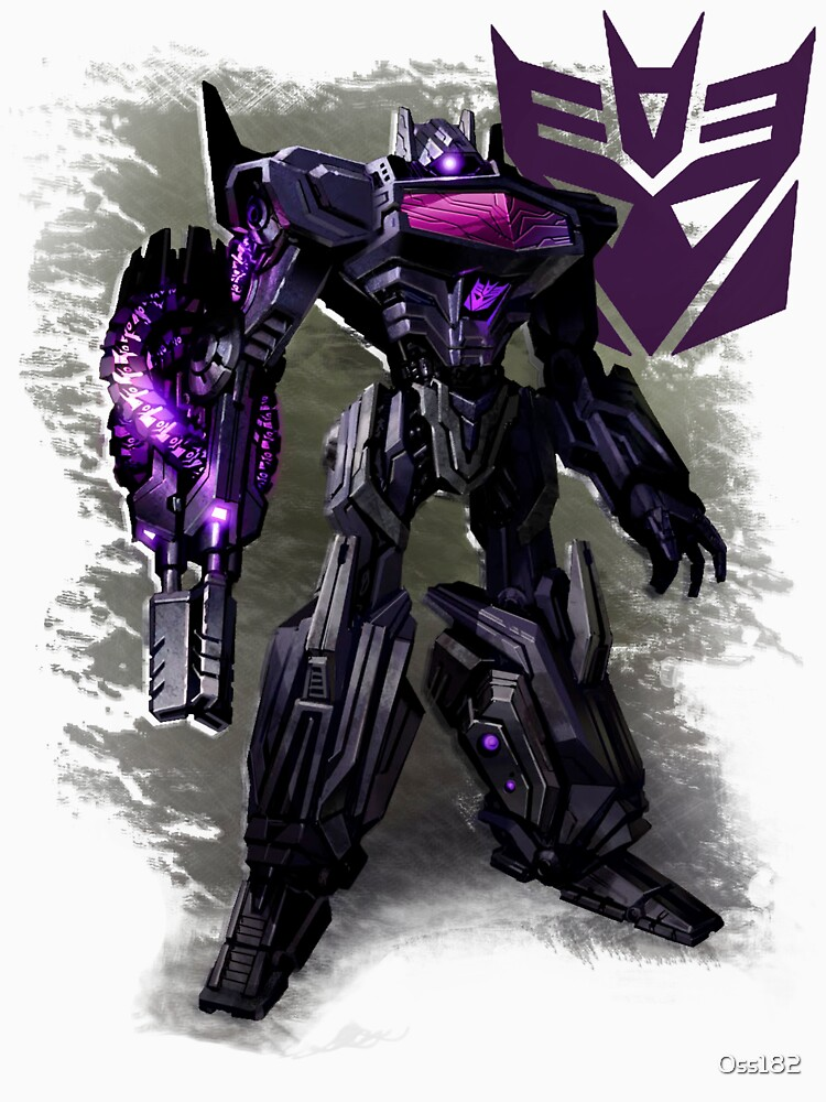 Transformers War For Cybertron - Decepticons: Shockwave by Oss182