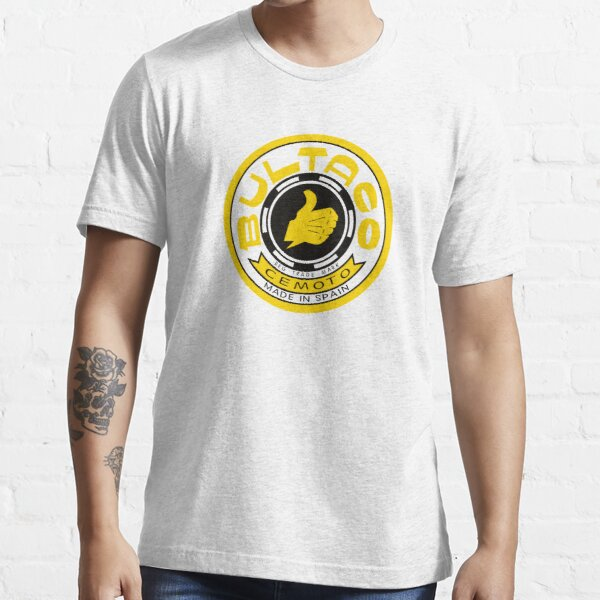 BEST SELLING - Bultaco Motorcycle Logo Camiseta esencial