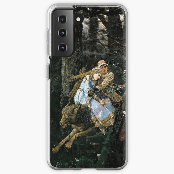 Ivan Tsarevich Riding the Grey Wolf - Viktor Vasnetsov - 1889 Samsung Galaxy Soft Case