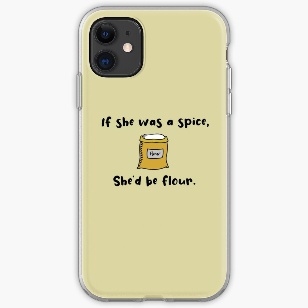 If She Was A Spice - Bob's Burgers Design iPhone Case & Cover