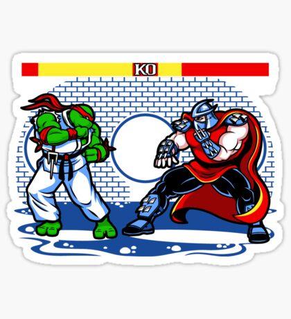 Sewer Fighter Sticker