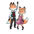 Fox Dancers by Ashley Weiler