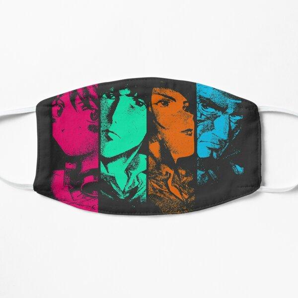 Bebop Noir (color) Flat Mask
